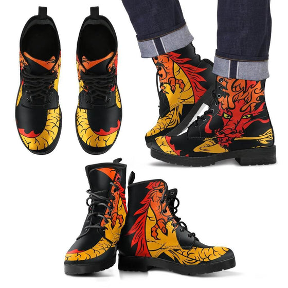 Flame Dragon Men's Boots