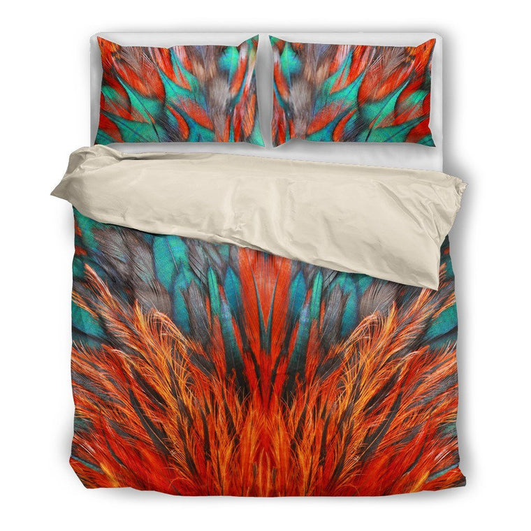 Flame Feathers Bedding Set