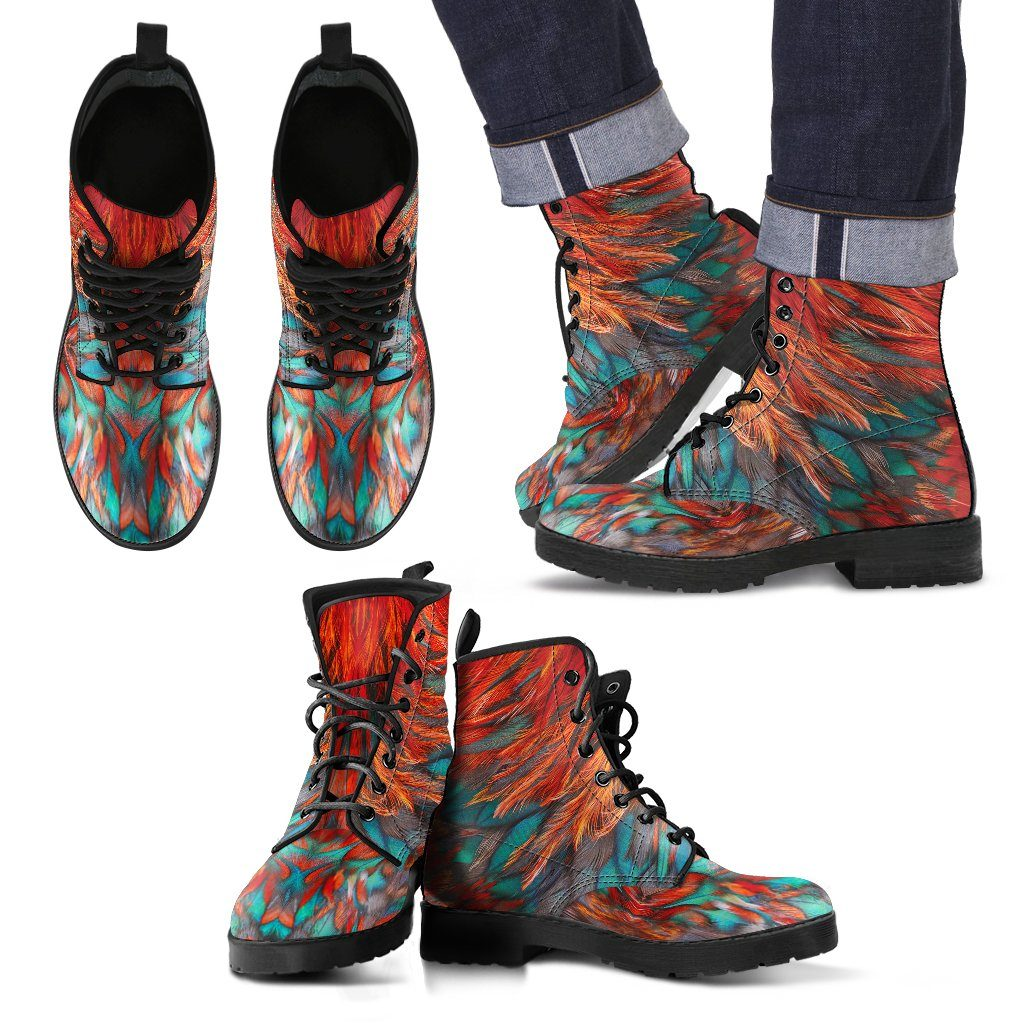 Flame Feathers Men's Boots