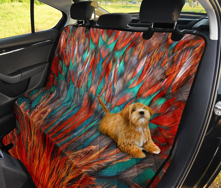 Flame Feathers Pet Seat Covers