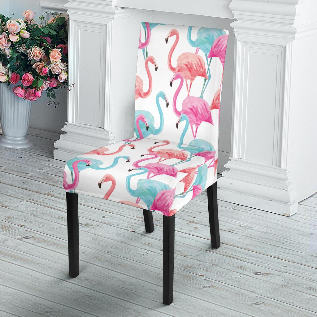 Flamingo Dining Chair Slipcover