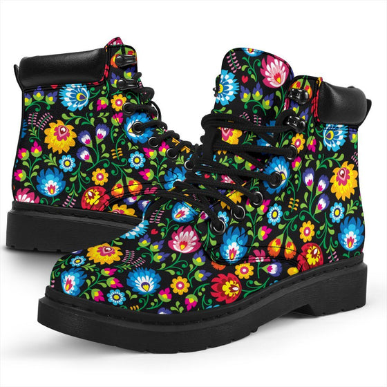 Floral All Weather Boots