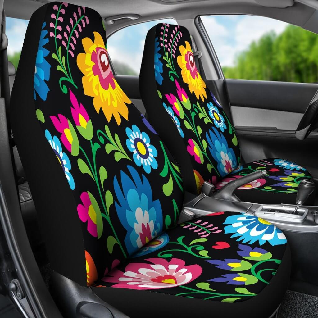 Seat Covers & Accessories Floral Car Seat Covers Universal Fit SUV ...