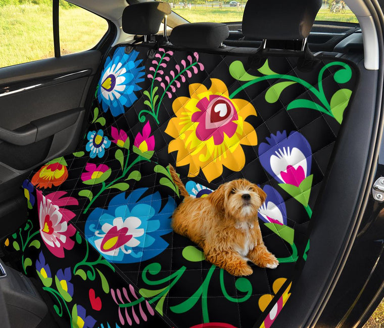Floral Pet Seat Covers