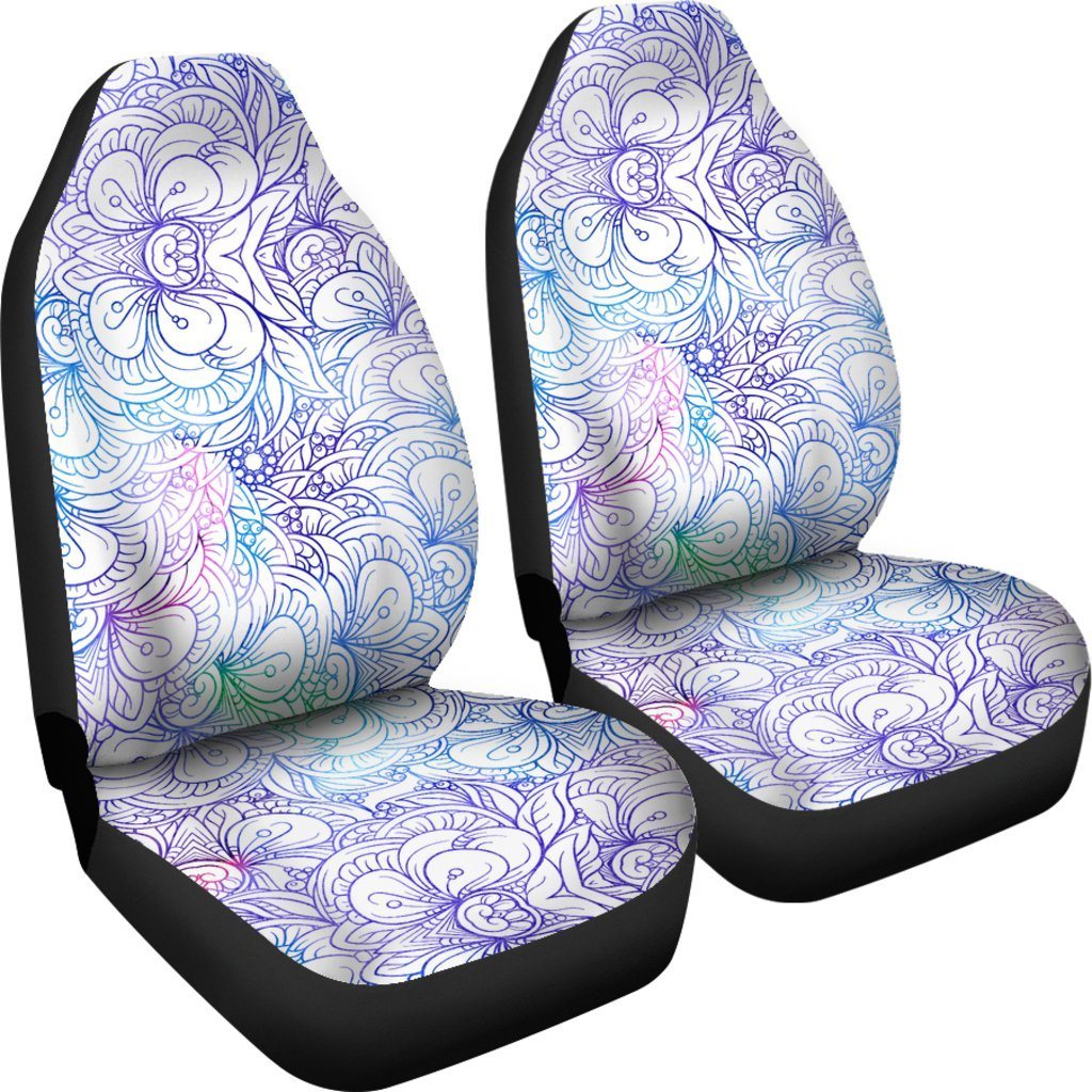 Flowers Of Love Car Seat Covers