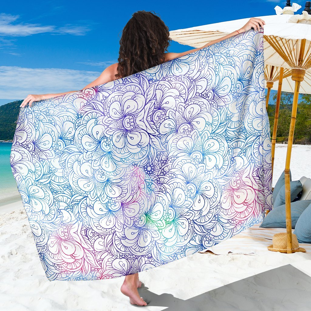 Flowers Of Love Sarong