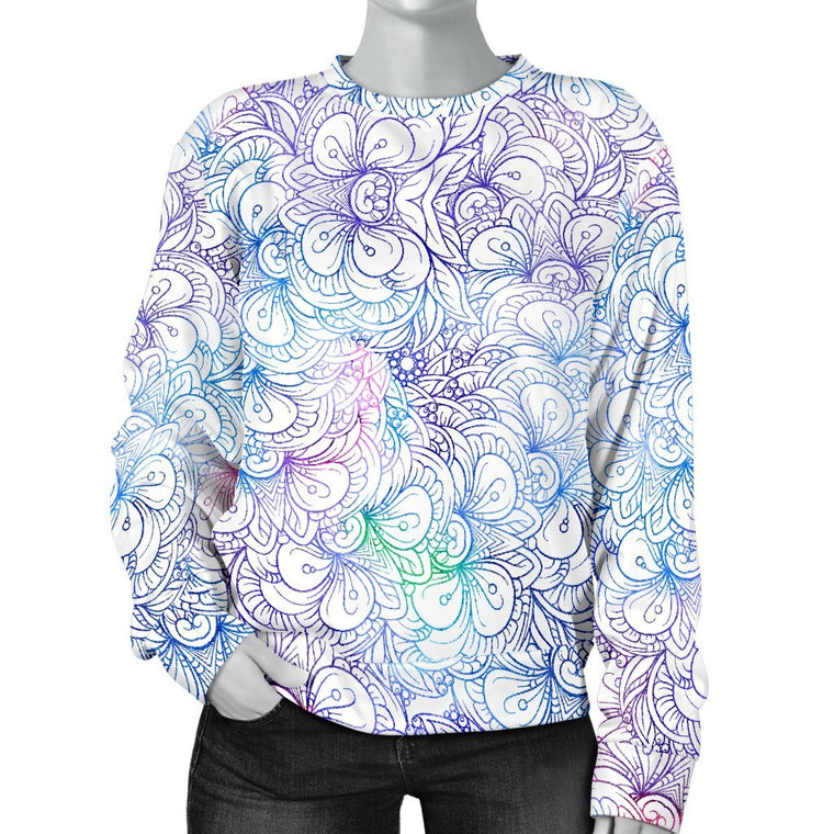 Flowers Of Love Sweater