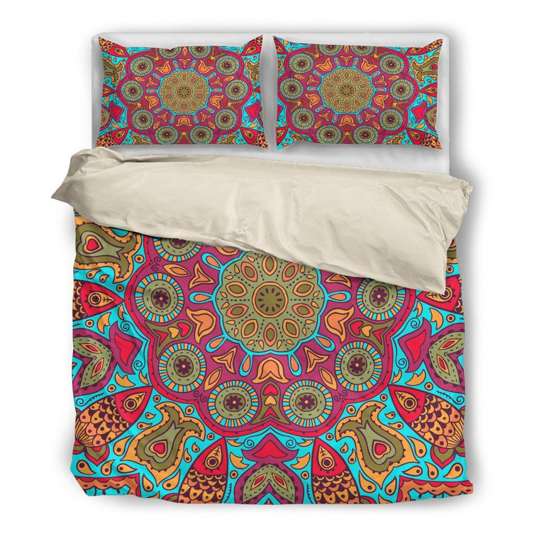 Flying Fish Mandala Bedding