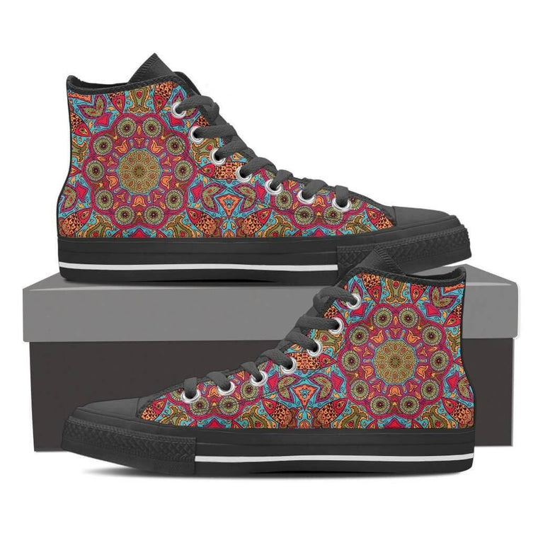 Flying Fish Mandala High Top