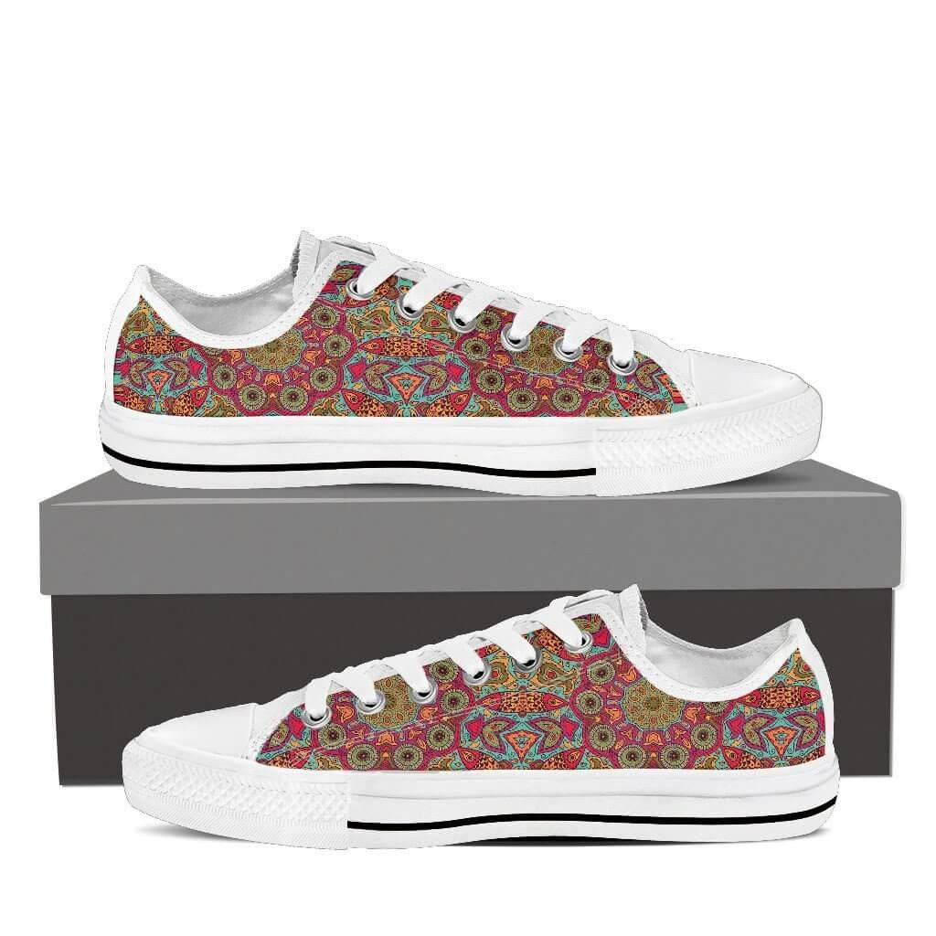 Flying Fish Mandala Low Top