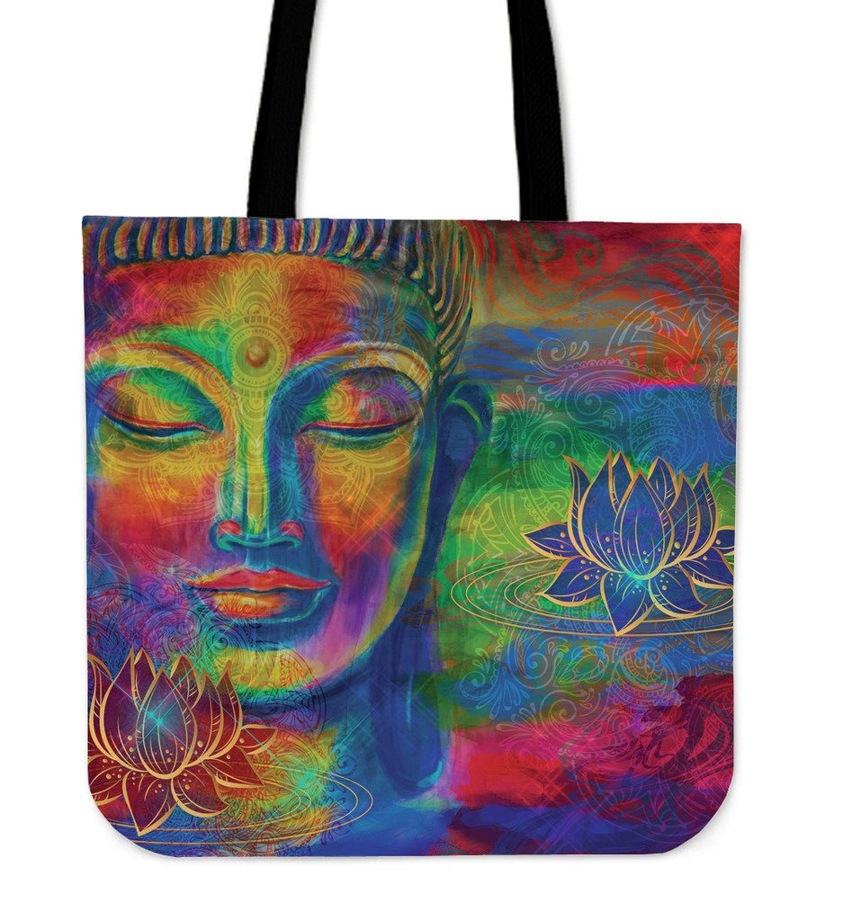 Free Your Mind- Buddha Meditation Tote