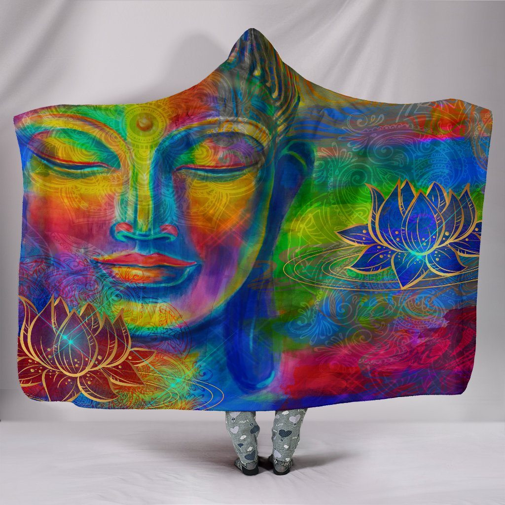 Free Your Mind Hooded Blanket