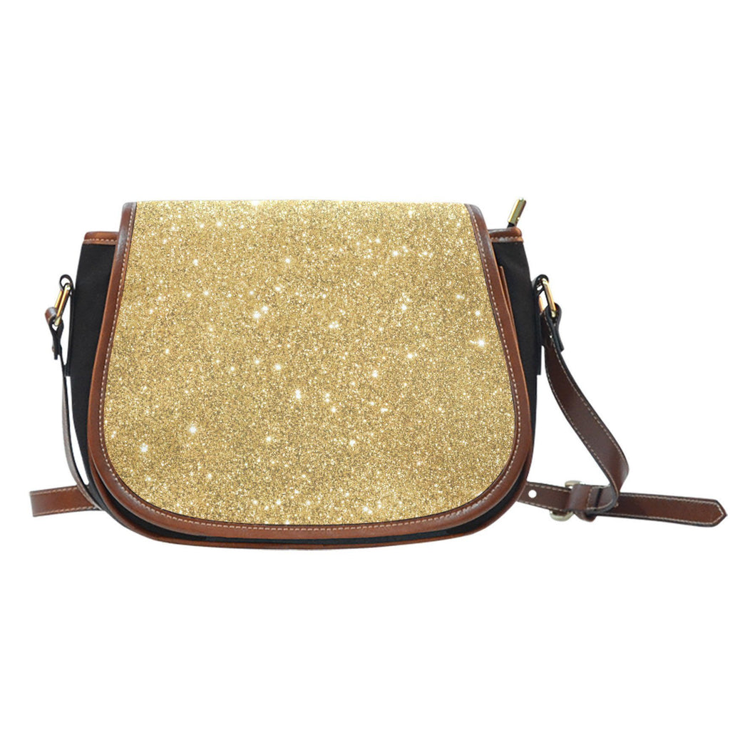 Golden Sparks Saddle Bag