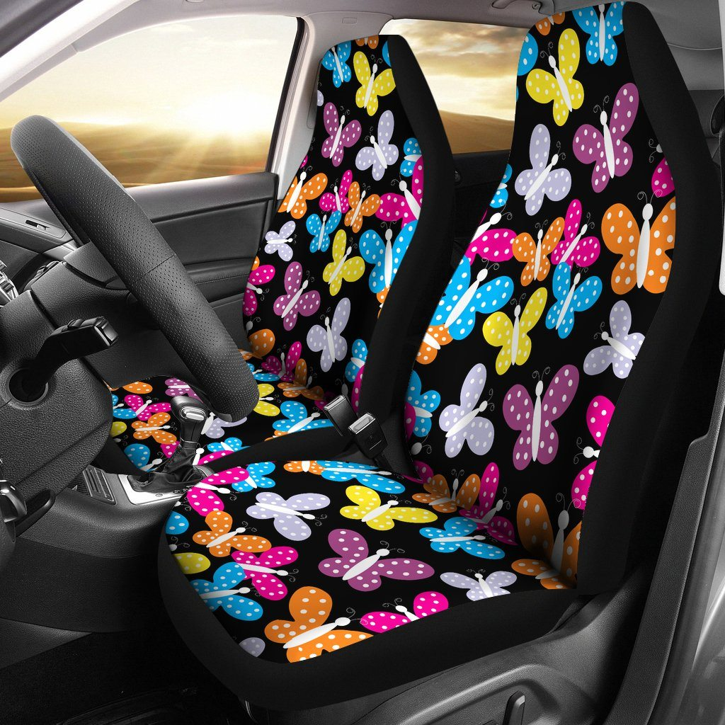 Happy Butterflies Car Seat Covers