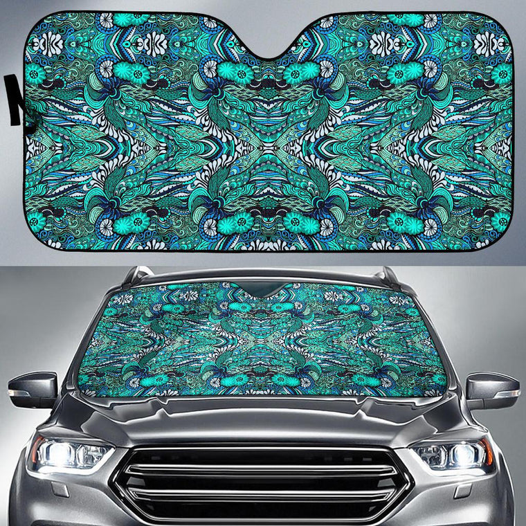 Happy Ocean Auto Sun Shade