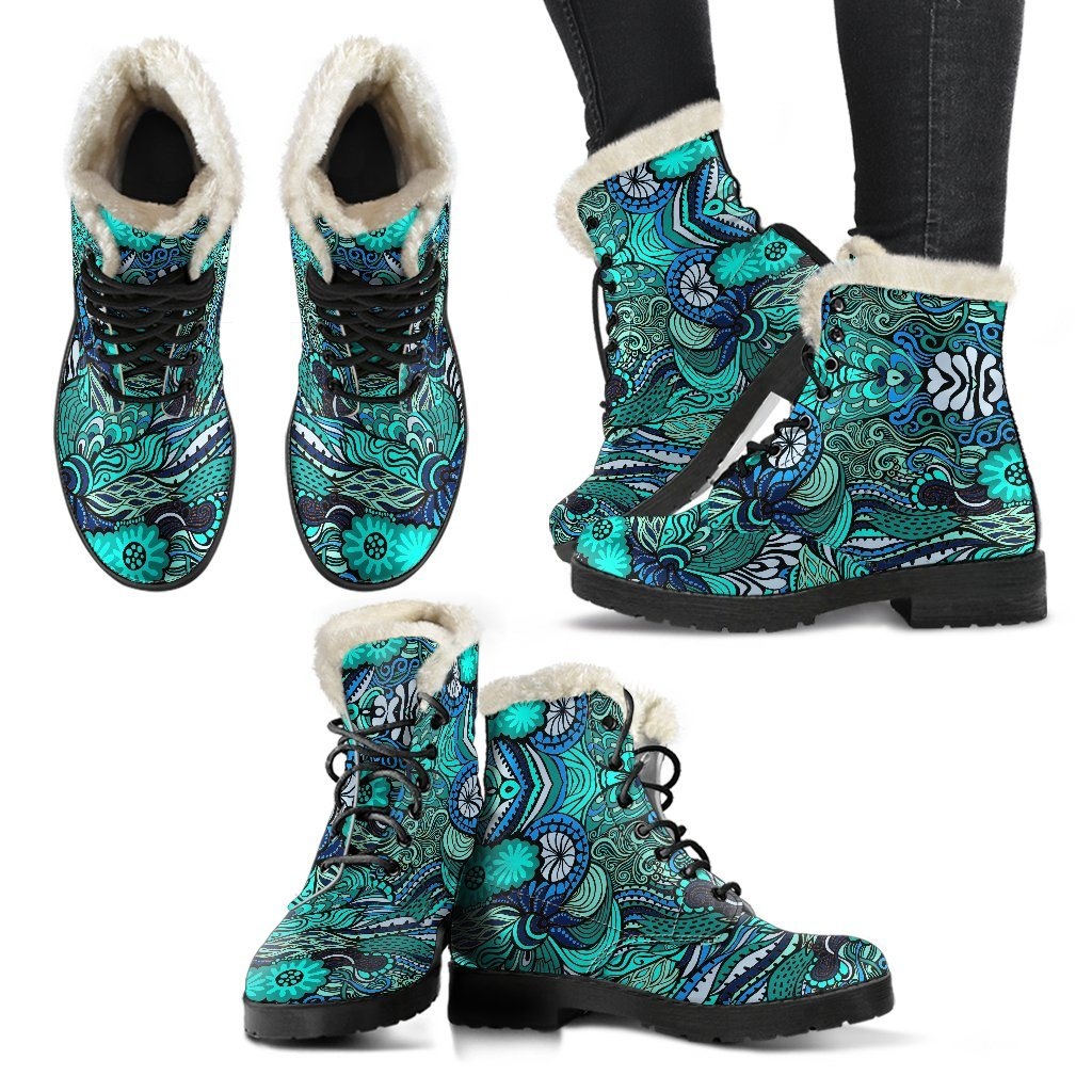 Happy Ocean Winter Boots