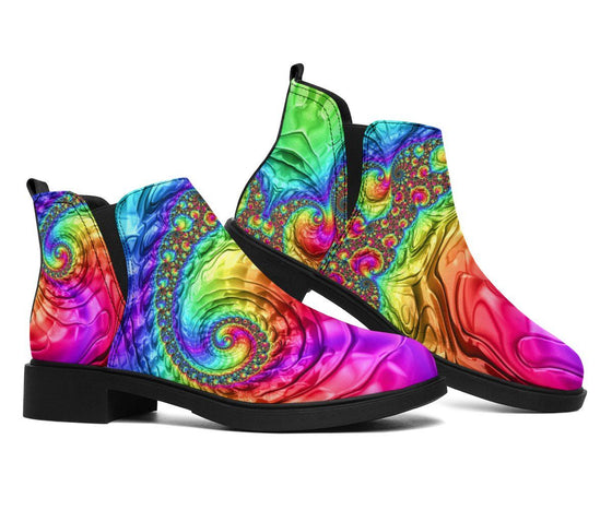 Happy Rainbow Fashion Boots