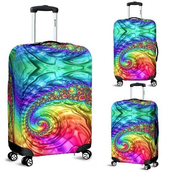 Happy Rainbow Luggage Covers