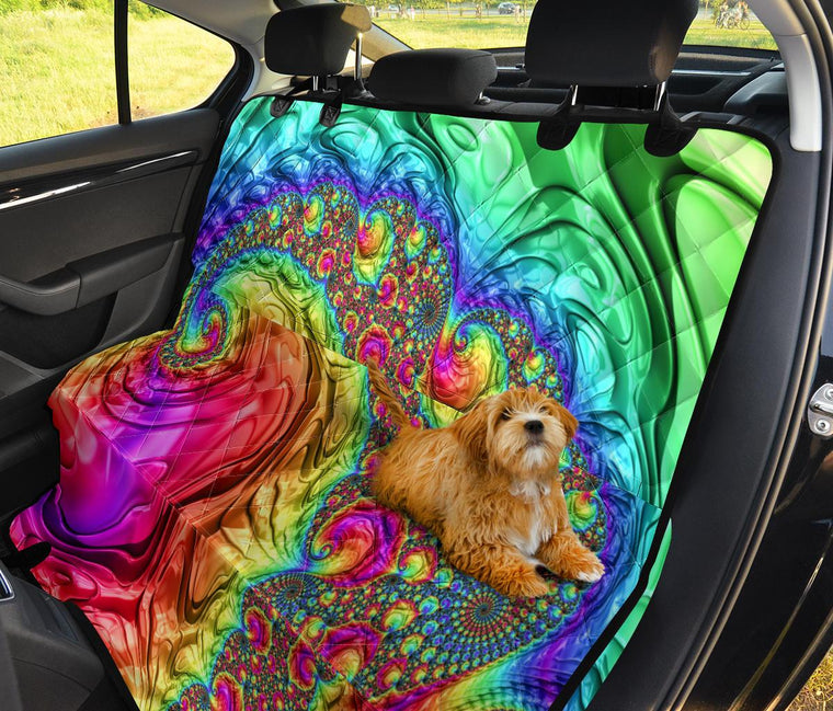 Happy Rainbow Pet Seat Covers