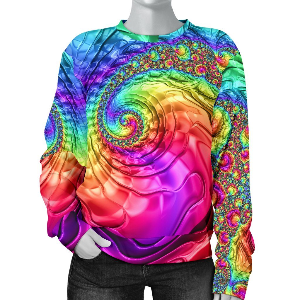 Happy Rainbow Women's Sweater