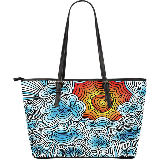 Here Come The Sun  PU Leather Tote