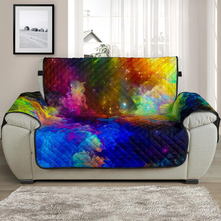 Home Decor - Colorful Universe Chair And A Half Covers