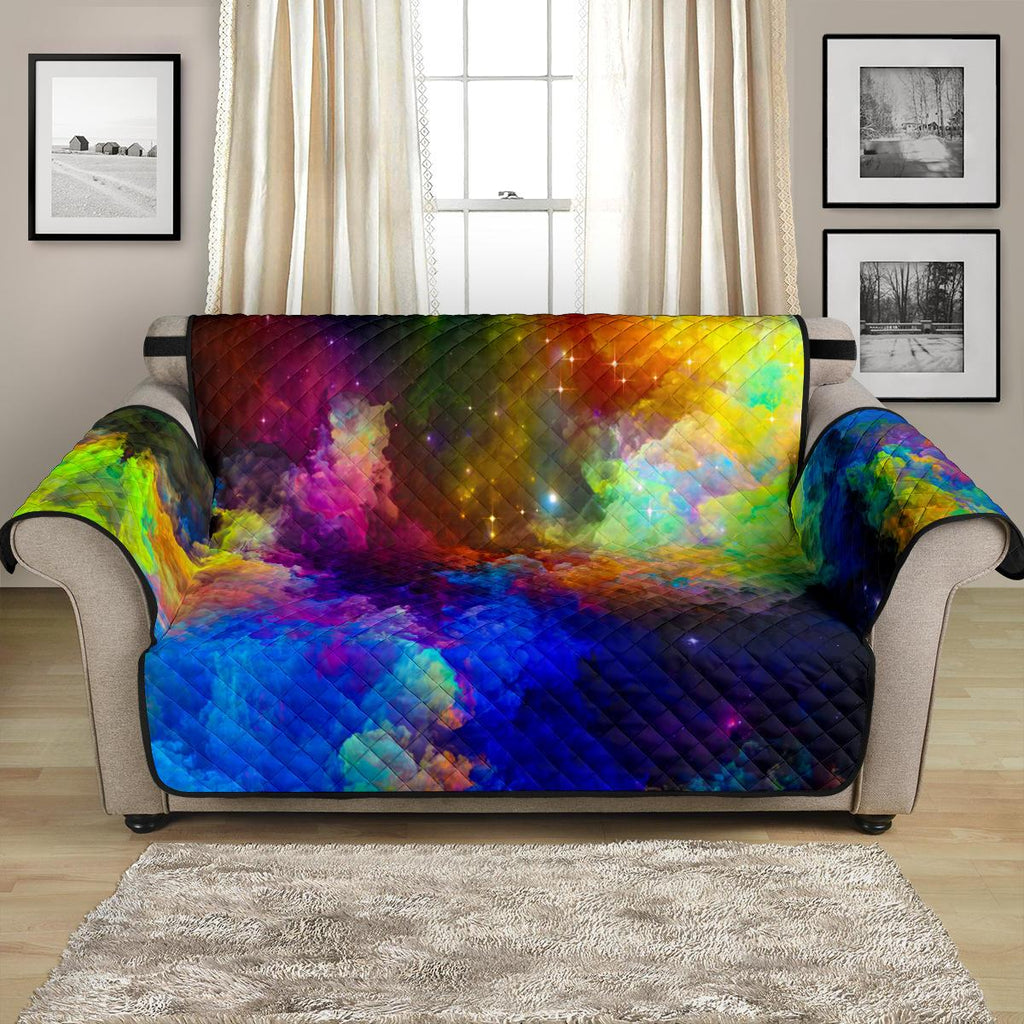 Home Decor - Colorful Universe Loveseat Sofa Cover
