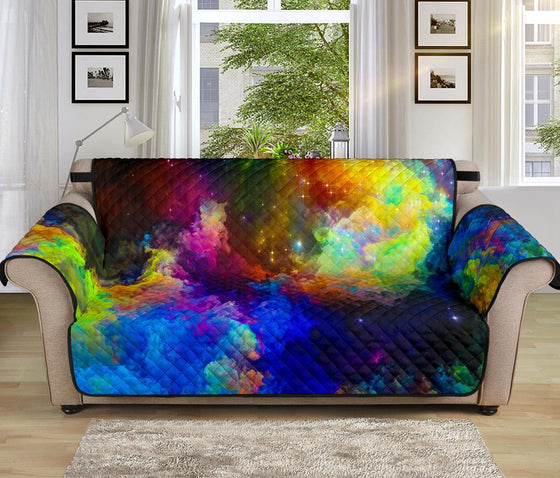 Home Decor - Colorful Universe Sofa Protector