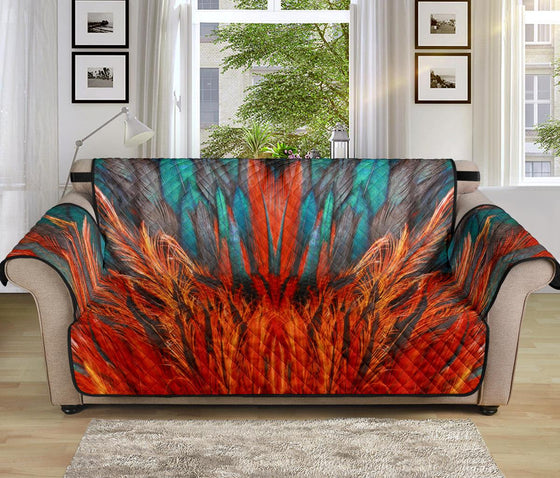 Home Decor - Flame Feather Sofa Protector