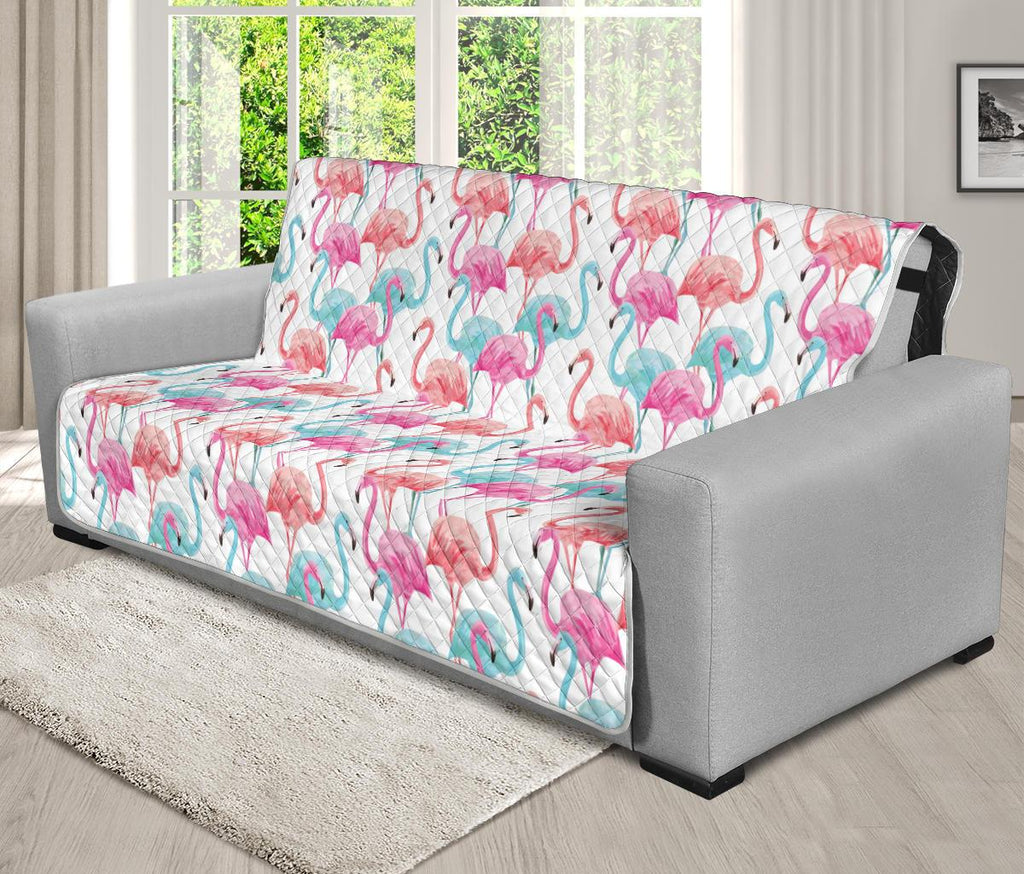 Home Decor - Flamingo Futon Sofa Cover
