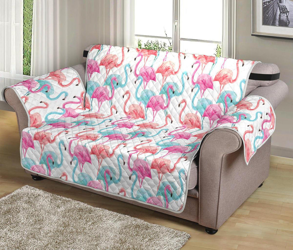 Home Decor - Flamingo Loveseat Sofa Cover