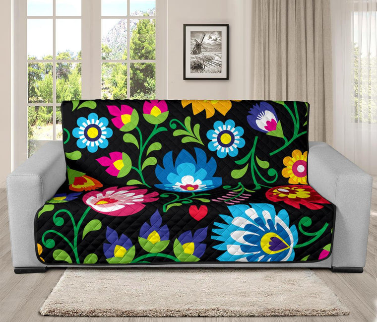 Home Decor - Floral Futon Sofa Cover