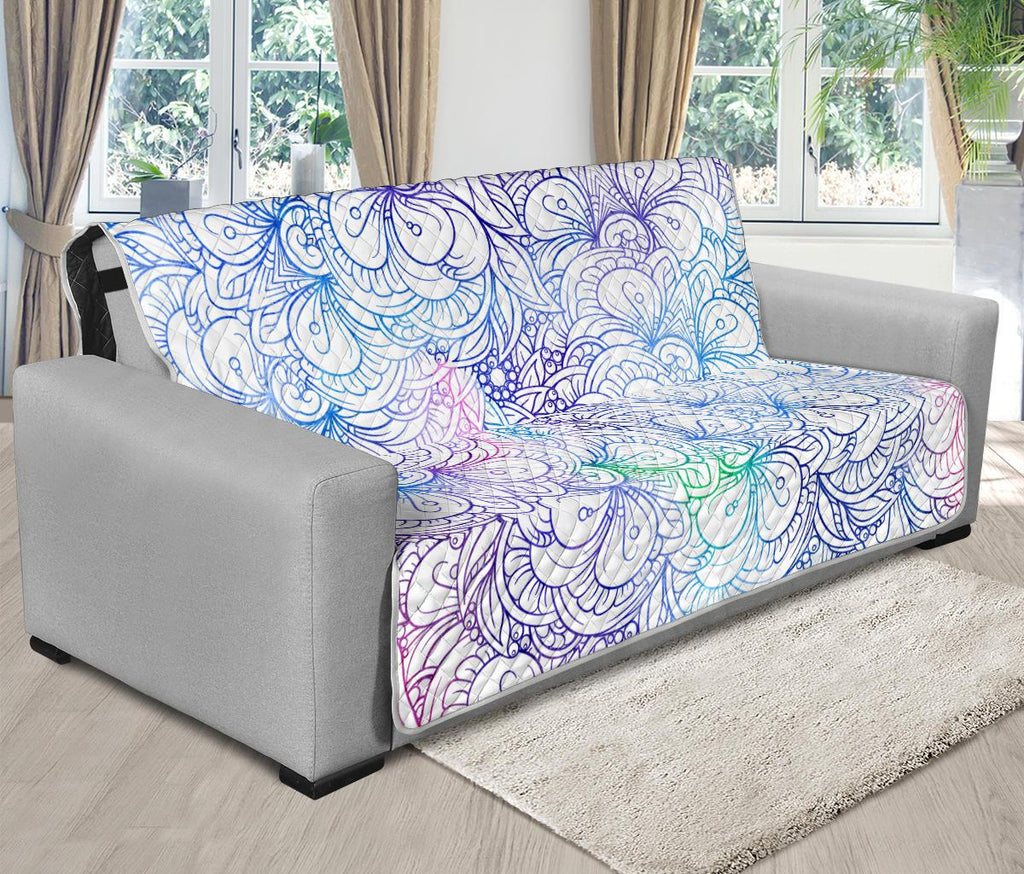 Home Decor - Flower Mandala Futon Sofa Cover