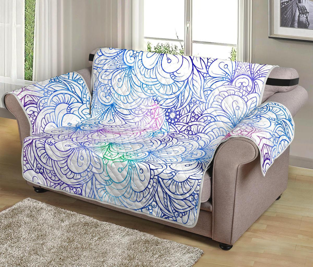 Home Decor - Flower Mandala Loveseat Sofa Cover