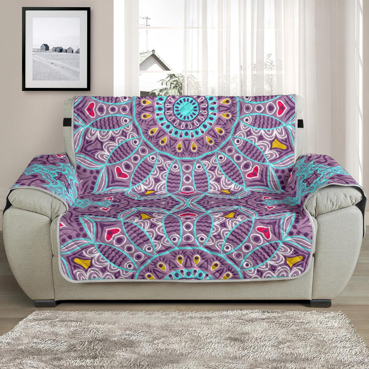 Home Decor - Love Mandala Chair And A Half Covers