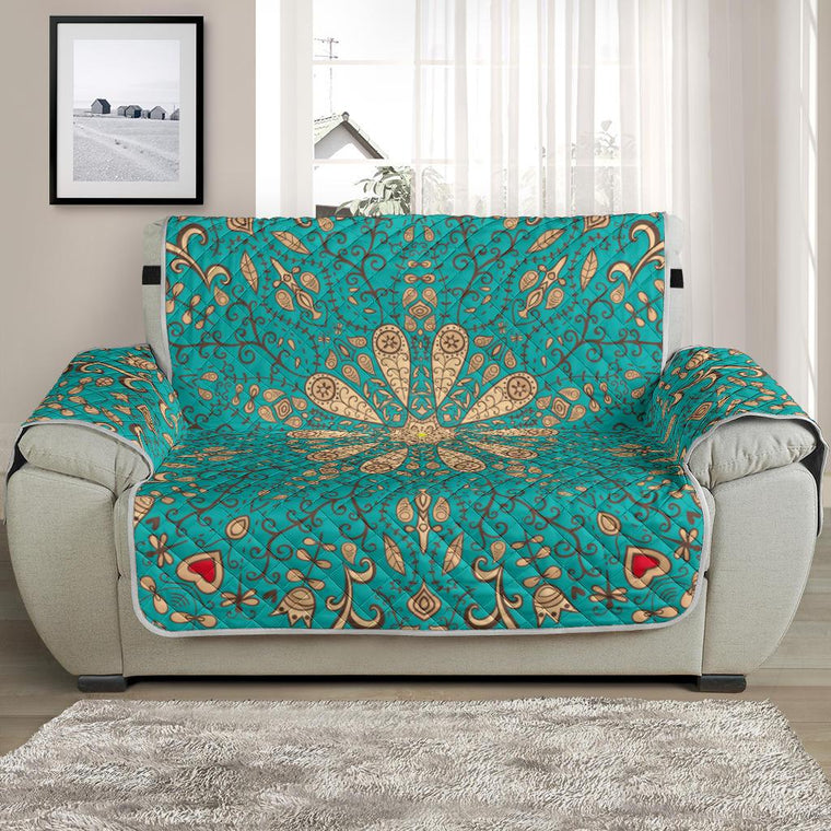 Home Decor - Peace Of Mind Mandala Chair And A Half Covers