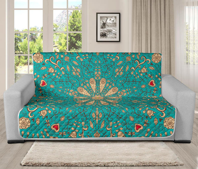Home Decor - Peace Of Mind Mandala Futon Sofa Cover