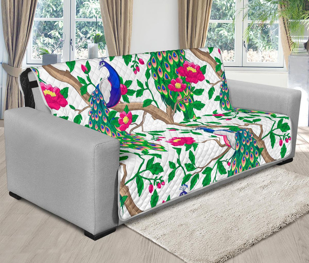 Home Decor - Peacock Futon Sofa Cover