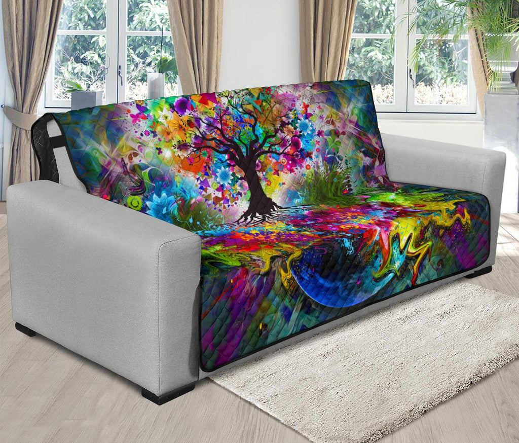 Home Decor - Tree Of Life Futon Sofa Cover