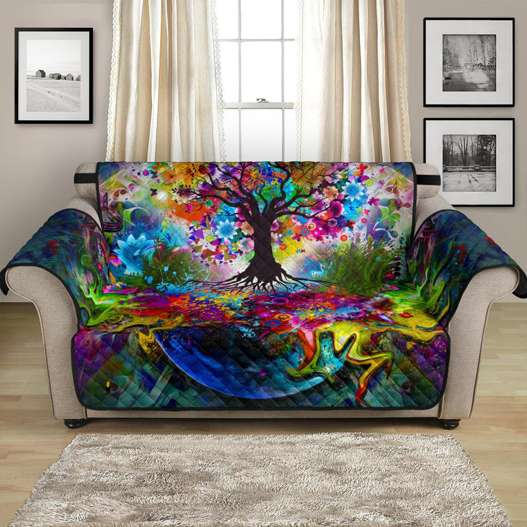 Home Decor - Tree Of Life Loveseat Sofa Covers