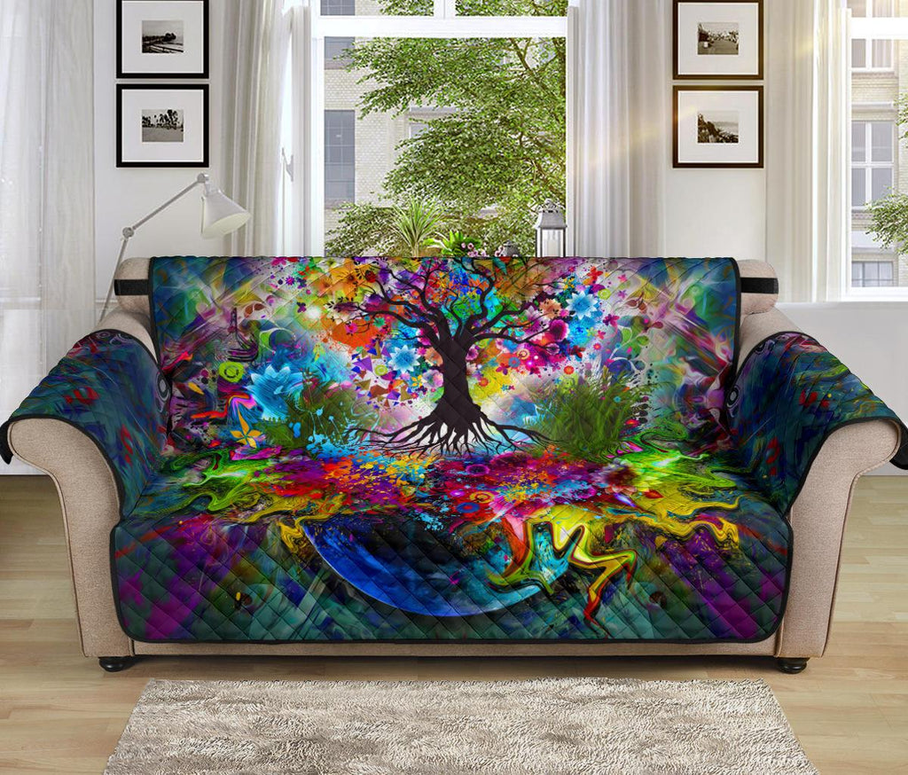 Home Decor - Tree Of Life Sofa Protector