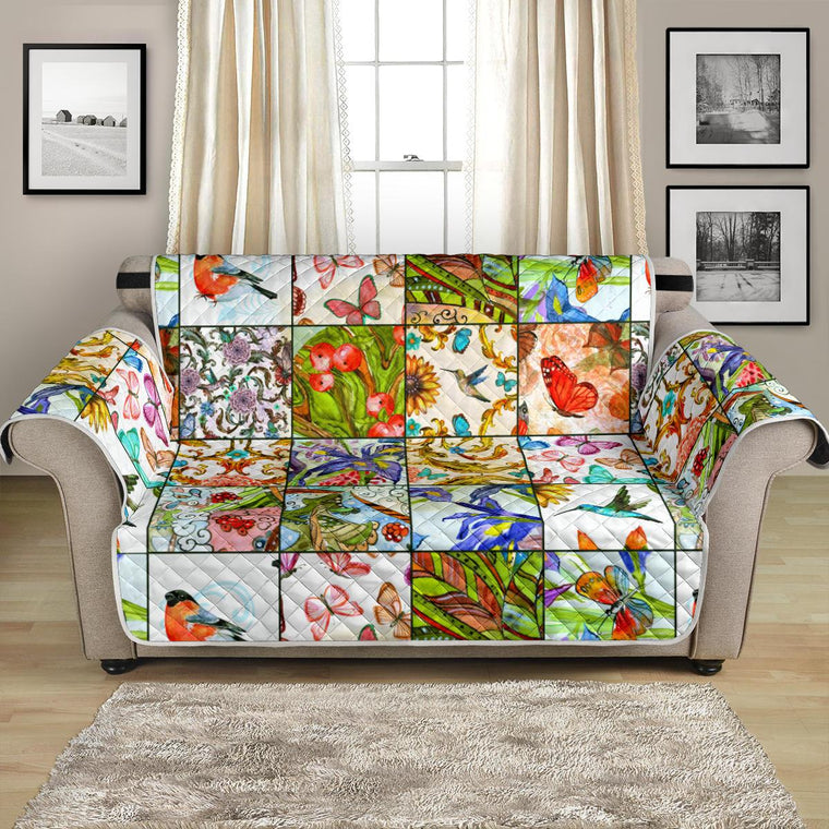 Home Decor - Windows To Nature Loveseat Sofa Cover