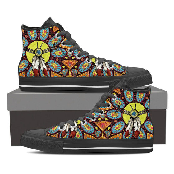Indian Amulet Men's High Top