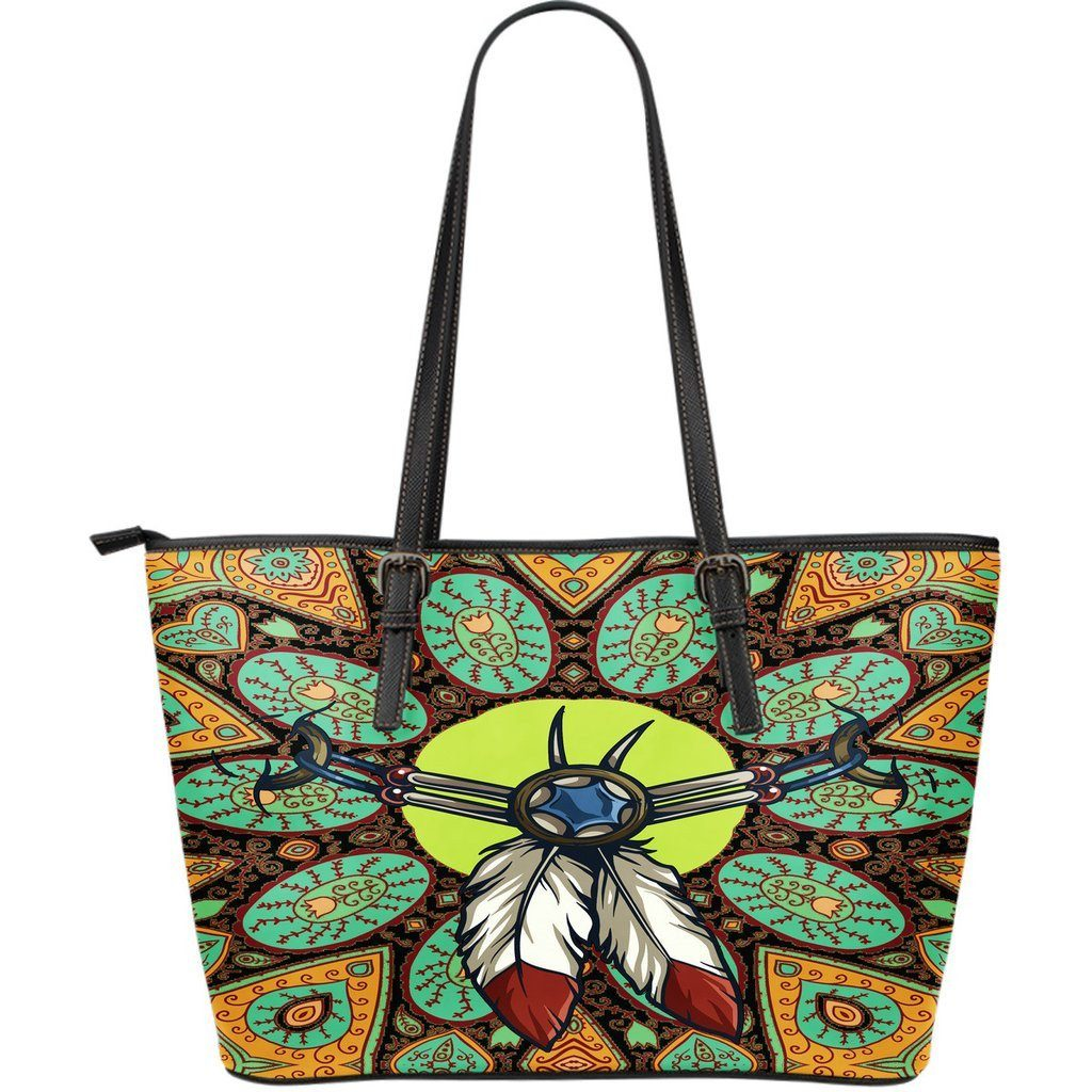 Indian Amulet PU Leather Tote