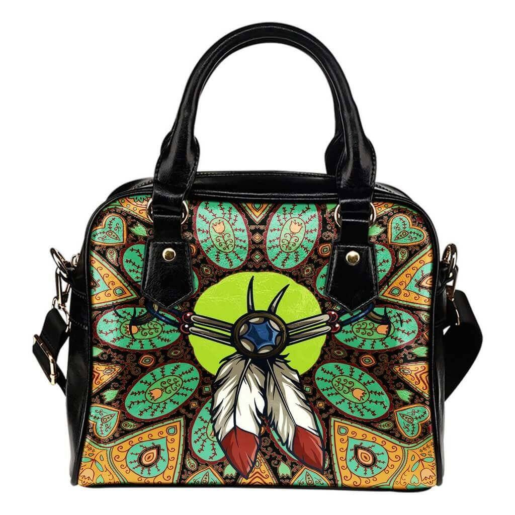 Indian Amulet Shoulder Handbag