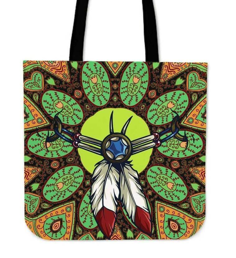 Indian Amulet Tote Bag