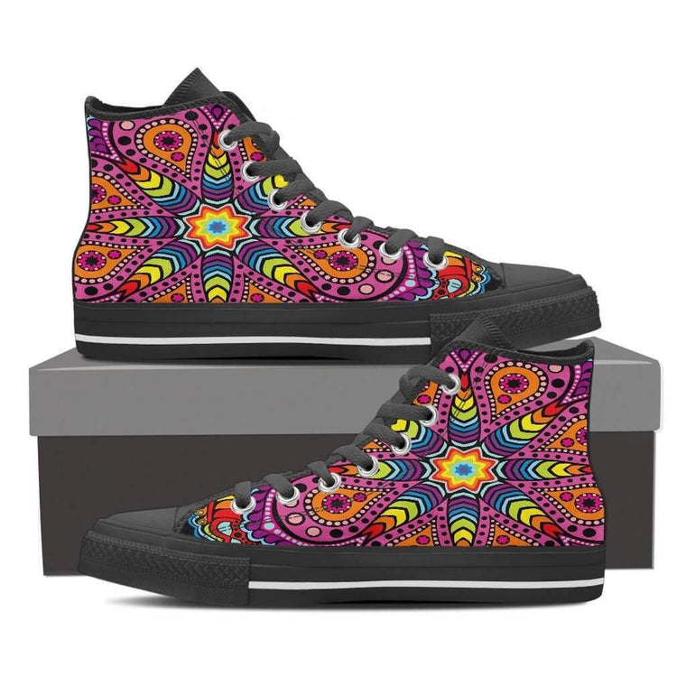 Joy Of Life Mandala High Top