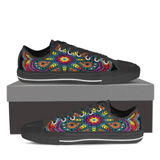 Joy Of Life Mandala Low Top