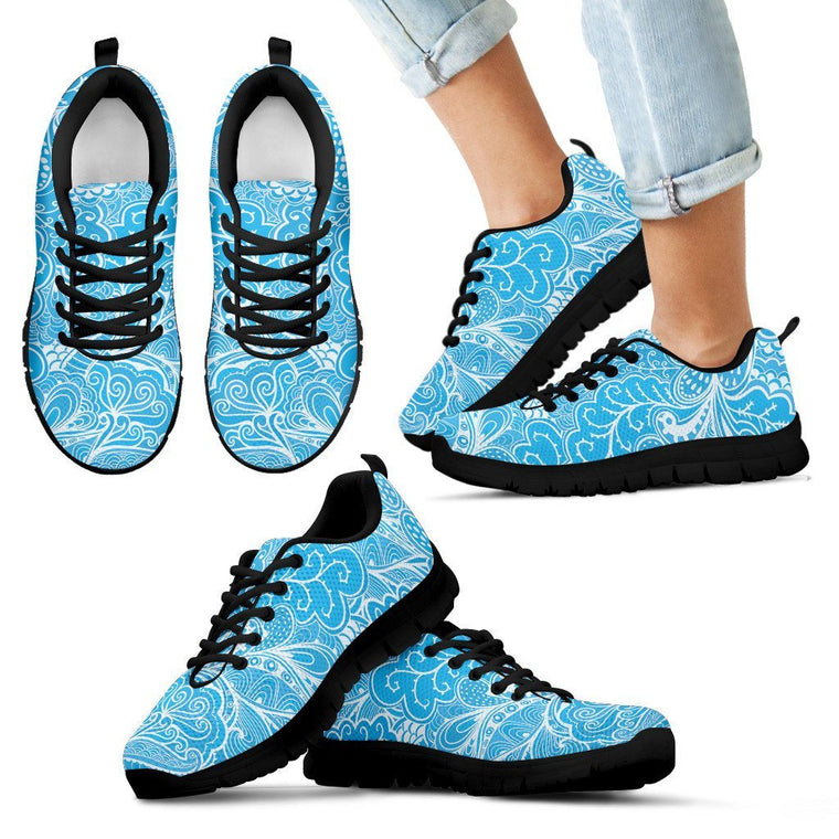 Kids Sneaker - Calm In Blue Kid's Sneakers
