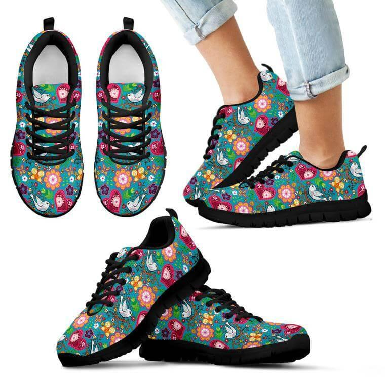 Kids Sneaker - Love Bird Kids Sneakers
